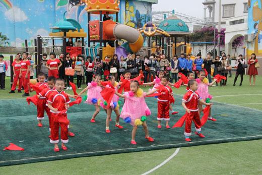 幼儿舞蹈表演